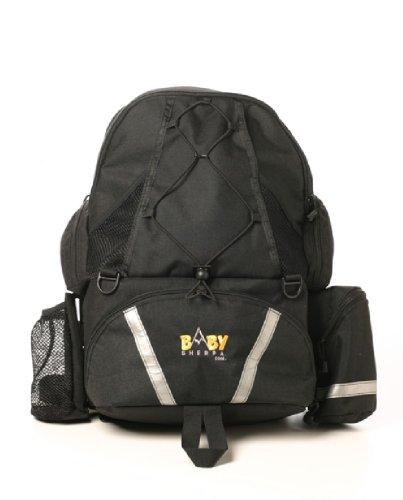 Baby Sherpa Diaper Backpack - BlackB00029P4GY