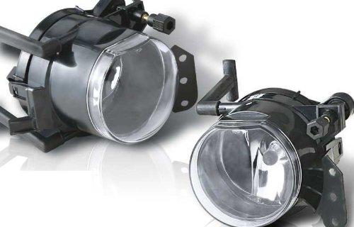04-08 BMW E60 5 Series OEM Fog Lights Clear Lens Pair