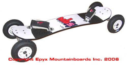 MBS Vixen Mountainboard with F2 Bindings