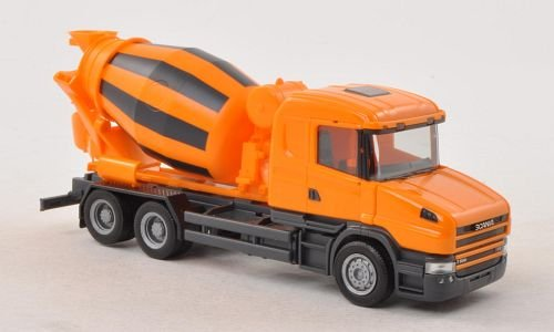 Scania-Hauber-04-Betonmischer-orange-3-Achs-Modellauto-Fertigmodell-Herpa-187