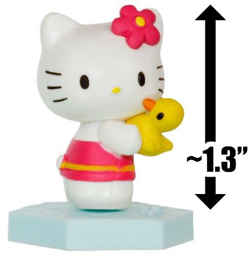 "Hello Kitty w/ a Ducky ~1.3"": Hello Kitty Mini-Figure Collection Series #2 - 1"