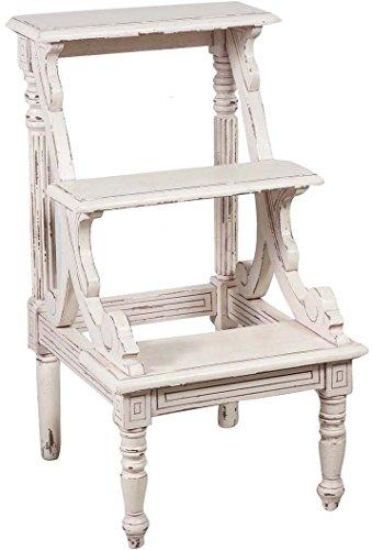 scaletta-in-legno-massello-di-mogano-finitura-bianca-anticata-44x49x81-cm