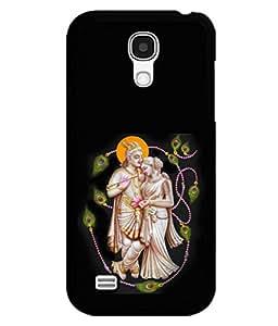 printtech Lord God Radha Krishna Back Case Cover for Samsung Galaxy S4 Mini::Samsung Galaxy S4 Mini i9190