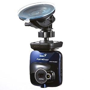 フルHD ドライブレコーダー 高画質 常時録画 動体検知 簡単取り付け 400-CAM032