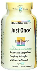 Rainbow Light Just Once Multivitamin  Tablets   120 tablets