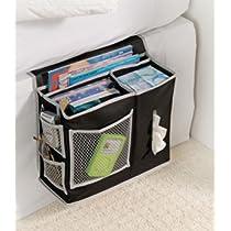 Bedside 6 Pocket Storage Mattress Book Remote Caddy