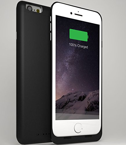 iPhone-6S-Plus-Battery-Case---iPhone-6-Plus-Battery-Case---6000mAh-External-Protective-Charging-Case-Extended-Portable-Charger-Backup-Battery-Pack-Case--Black-