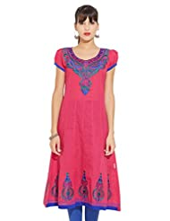 LOVELY LADY Ladies Cotton Solid KURTI - B00ZCCADZ8