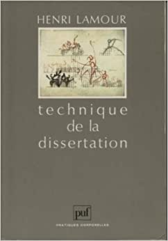 les techniques dissertation