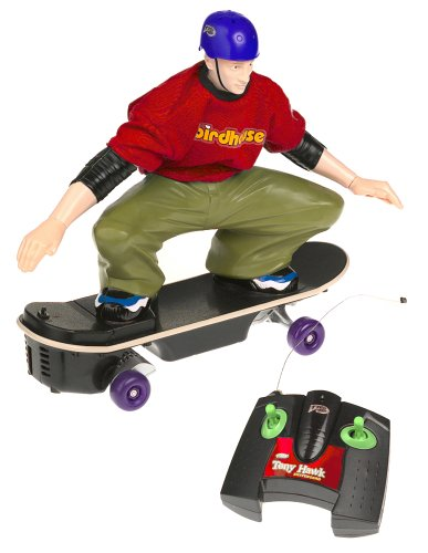 Buy Low Price Mattel Tony Hawk Skateboard Asst.-TYCO R/C TMH-27MHz-Deco #1 Figure (B00005NOKJ)