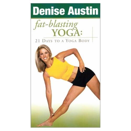 Amazon.com: Denise Austin - Fat-Blasting Yoga: 21 Days to a Yoga Body [VHS]: Denise Austin