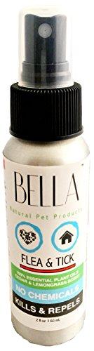 BELLA Pet Natural Flea, Tick, Mosquito Control Spray 2 fl oz.