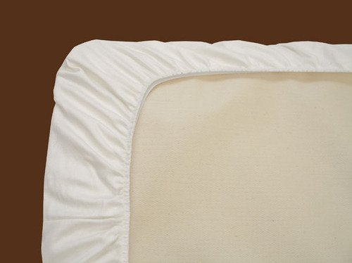 Naturepedic 3 Pack Organic Cotton Flannel Crib Fitted Sheet