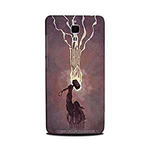 Yashas Xiaomi Mi 4 Designer Printed Case & Covers (Xiaomi Mi 4 Back Cover) - Superhero God Thunder