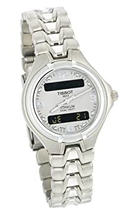 Tissot Women's T65718831 Titanium Chronograph Watch