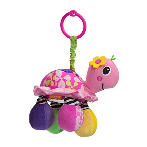 Infantino Sparkle Topsy Turtle Mirror Pal - 1