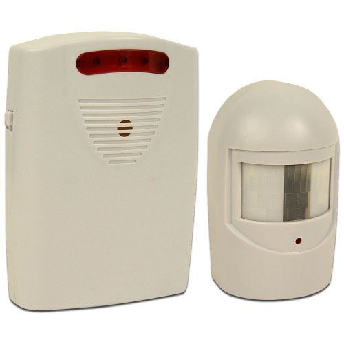 Trademark 82-3731 Driveway Patrol Infrared Wireless Home Security Alarm System