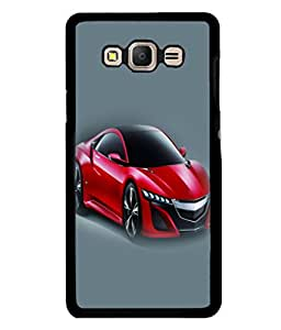 printtech Superfast Car Back Case Cover for Samsung Galaxy E7::Samsung Galaxy E7 E700F