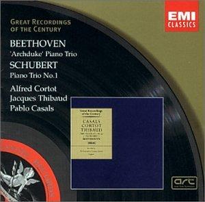 Ludwig van Beethoven, Franz Schubert, Alfred Cortot