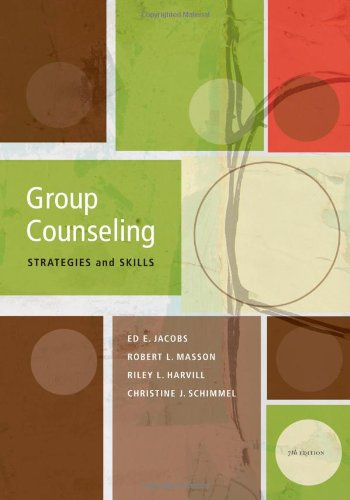 Group Counseling: Strategies and Skills, 7th Edition (SAB...