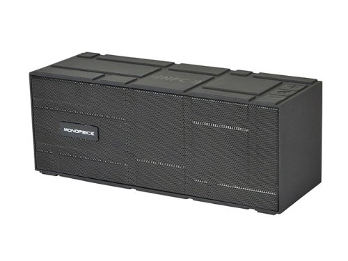 Portable Bluetooth® Nfc Brick Speaker- Black Product No: 10949