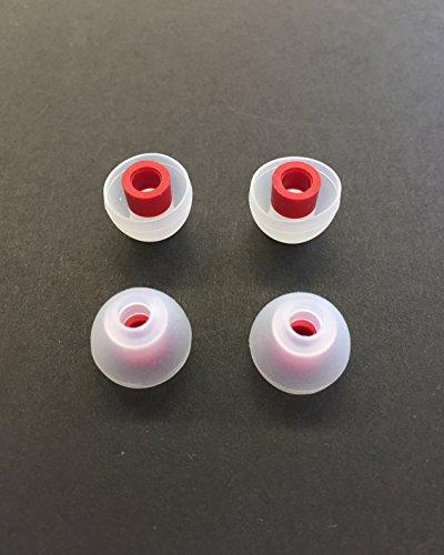 シリコンイヤーチップ SpinFit スピンフィット SPFT RD-01M(Mサイズ 4個入り)