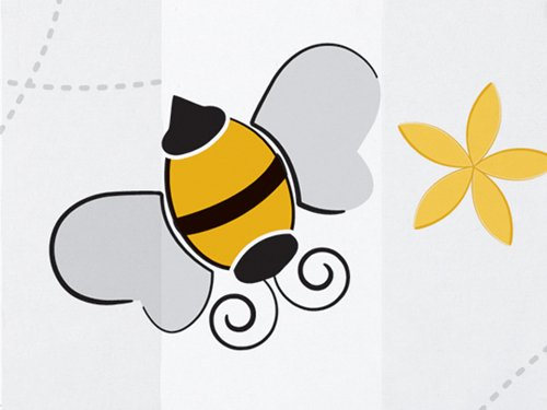 Buzz Bumble Bee Birthday Party Baby Shower Favor Treat Cello Bags 5X3X11 (10)