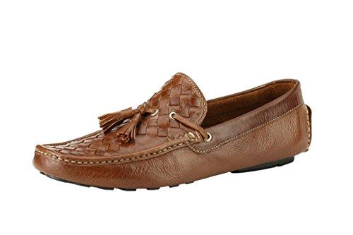Imparadise Footwear Men Tan Slip On Loafers IMF5025_TAN