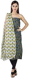 Bee Gee Boutique Women's Cotton Unstitched Dress Materials (BG-59)