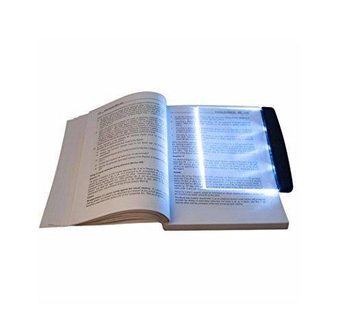 vision nocturne lecteur de livre LED lampe lumière plate signet voitures lecture