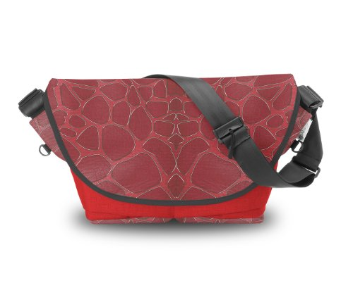 Atrangee Jag Spread Messenger Bag (Red, Black) (multicolor)