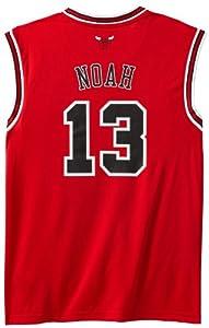 NBA Chicago Bulls Red Replica Jersey Joakim Noah #13 by adidas