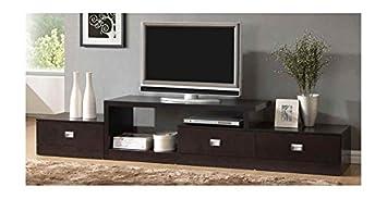 Asymmetrical Modern TV Stand
