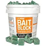 JT Eaton 709-PN Bait Block Rodenticide Anticoagulant Bait, Peanut Butter Flavor, For Mice and Rats (Pail of 72)