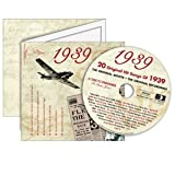A Time To Remember 1939 - The Classic Years CD - Birthday Card CDC1645546