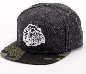 Chicago Blackhawks American Needle Limited Edition Powder Charcoal & Camo Snapback Cap Hat at Amazon.com