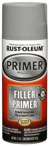 Rust-Oleum 249279 Automotive 11-Ounce Filler Primer Spray Paint, Gray