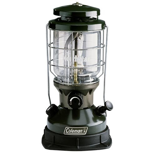 Coleman Northstar Single Mantle Fuel Lantern - Green/Black