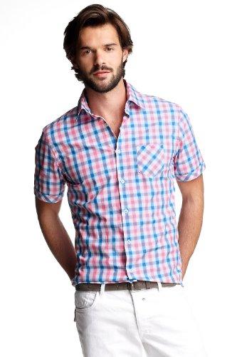 Esprit D33988 Men's Shirt Cactus Pink Medium