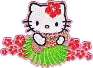 hula hello kitty coloring pages-#28