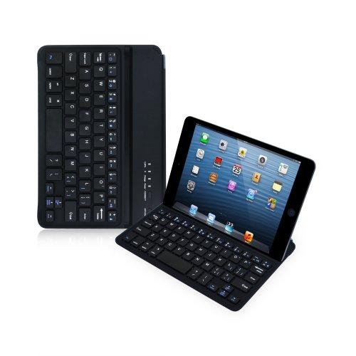 Sharon iPad Mini iPad Mini2 iPad Mini Retina キーボード - マグネット式ホルダー スマートケース Bluetooth キーボード 英語レイアウト