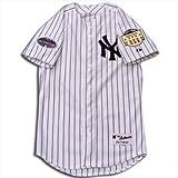 (マジェスティック)Majestic MLB ニューヨーク・ヤンキース オールスター 2008 オーセンティック ユニフォーム アニバーサリー パッチ付 ホーム