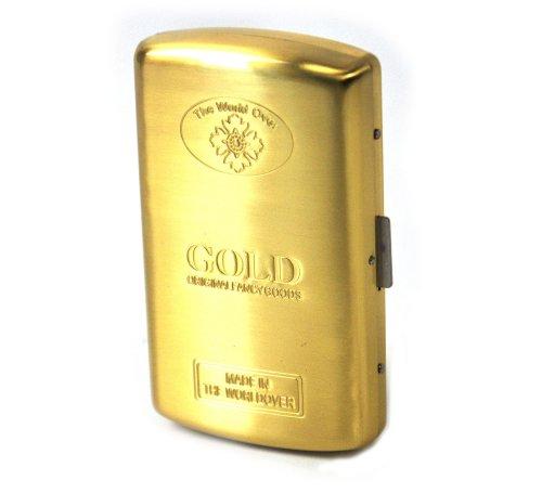 ゴールド インゴット タバコケース