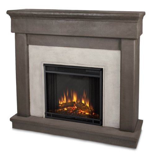 Real Flame Cascade 3420-X-Ds Electric Fireplace In Dune Stone - Cast Mantel Only