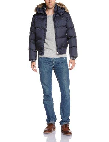 Schott NYC - Giacca, Uomo, Blu (Navy), XL