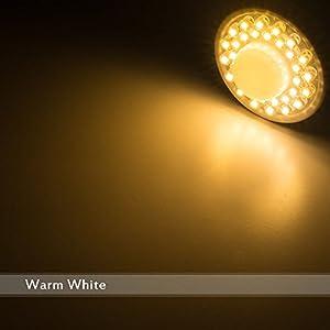 Pack of 1 GU10 2W PIR Motion Sensor LED Bulbs Spot Lights Warm White 3000K 170Lm 120Beam Angle 32LEDs Aluminum Shell 75w Halogen Bulb Equivalent Energy Saving Cabinet Lighting Downlight Ceiling Light from Senweit