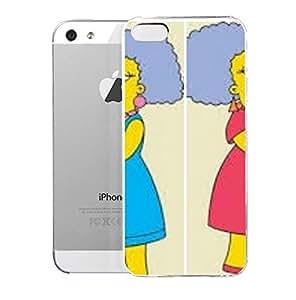 Amazon.com: Case for iPhone 5S PatfyAmdSelna Imagen Patty Y Selma Jpg