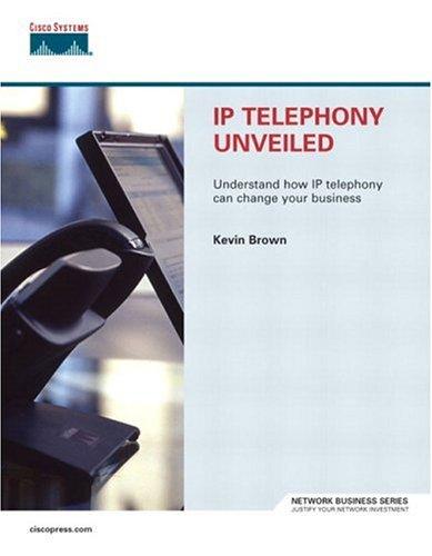IP Telephony Unveiled