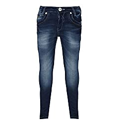 Sodacan Boy's Jeans (SDC 132_Blue_13-14 Year)