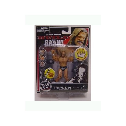 WWE Wrestling Build N' Brawl Series 1 Mini 4 Inch Action Figure Triple H (Wwe Build N Brawl Ring compare prices)